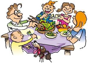 ทานกับครอบครัว
