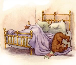 ตกเตียง