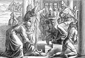 Aaron's Rod Changed to a Serpent Exodus 7:10