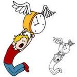 นาฬิกาแห่งชีวิตกำลังบินจากไป