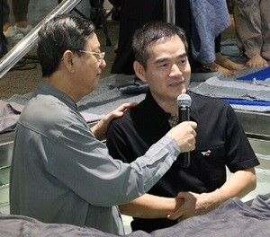 CJ Baptism K Chin