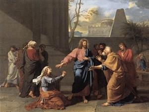 พระเยซูและหญิงคานาอัน