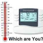 คุณเป็นเครื่องวัดอุณหภูมิ หรือเครื่องควบคุมอุณหภูมิ?